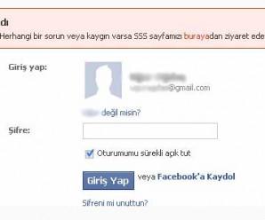 facebook hesap kilitlendi