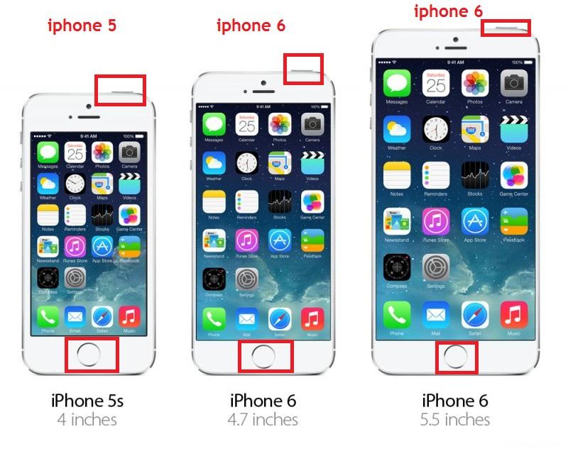 iphone 4 5 6 ekran görüntüsü alma