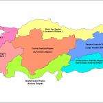 türkçe ingilizce türkiye bölgeler haritası