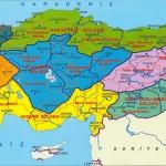 detaylı türkiye bölgeler haritası
