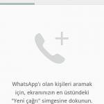 whatsapp arama davetiyesi